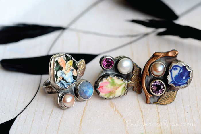 Post image for Magpie Rings No. 23, 24 and 25