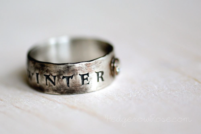 Winter Is Coming Ring