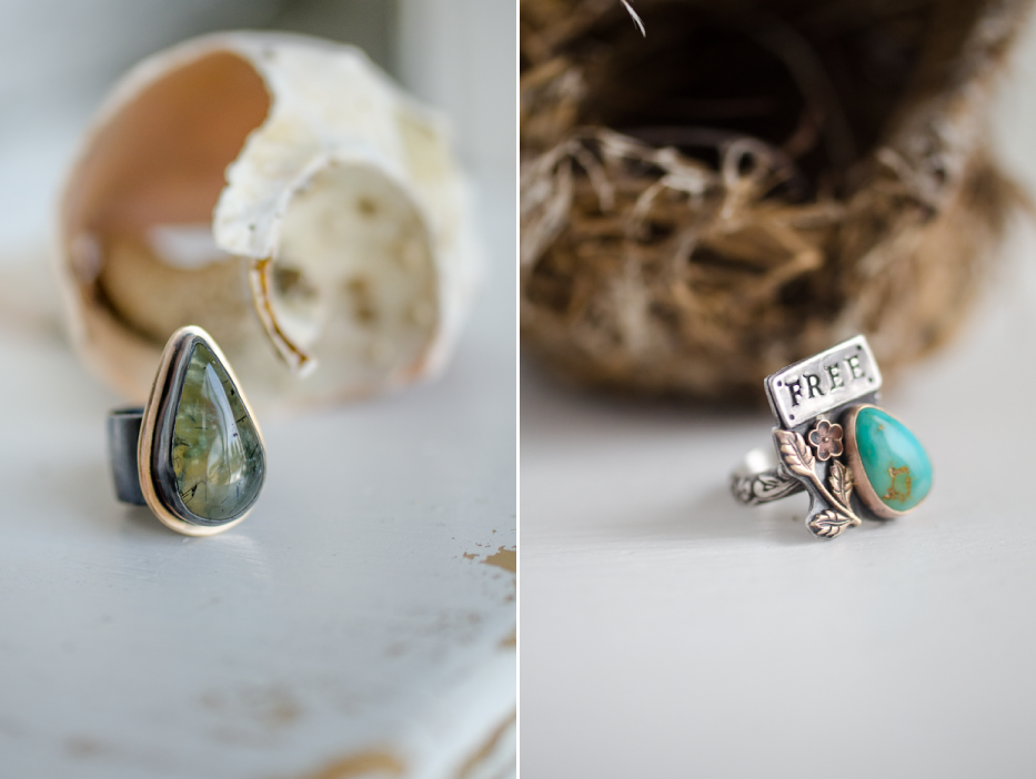 Prehnite-and-Turquoise-Rings-Hedgerow-Rose-Jewelry