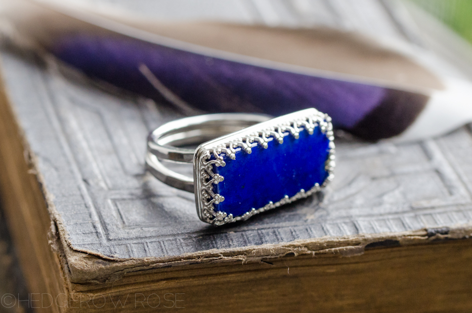 Lapis Lazuli Ring | Hedgerow Rose