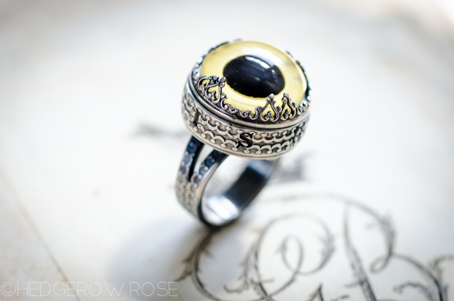Sterling Silver Owl Eye Athena Ring 1 | Hedgerow Rose