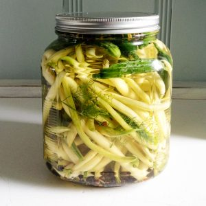 pickled french beans