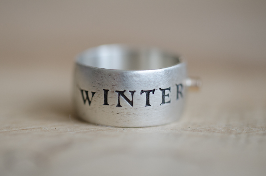 Winter is Coming Ring with Moissanite 1 | Hedgerow Rose