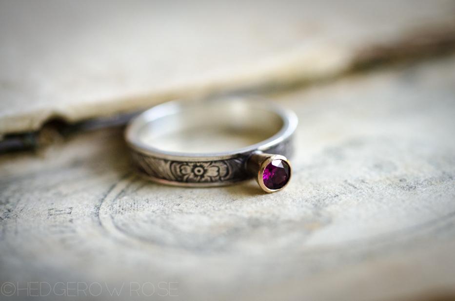 briar rose ring 1 | hedgerow rose