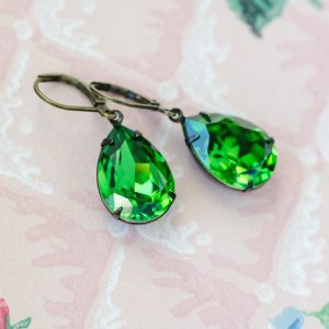 Fern Green Estate Earrings
