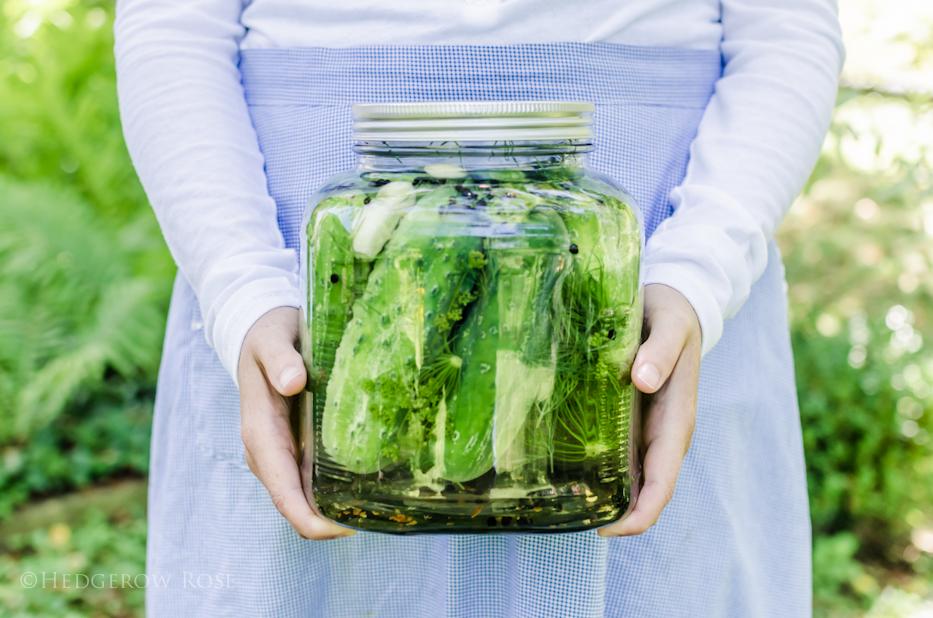 Makin' pickles
