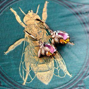 Petite Estate Style Earrings - Bee Charmers